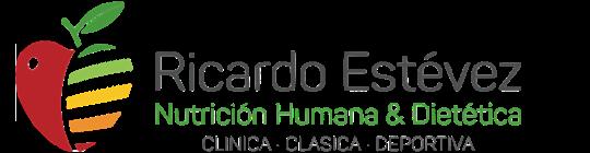 Logo de Ricardo Estévez, dietista-nutricionista en Lugo